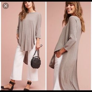 Anthropologie Deletta high low Shania tunic